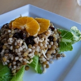 Start Here — Barley and Lentil Salad Base