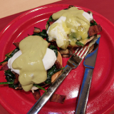 A Green Approach to Eggs Benedict